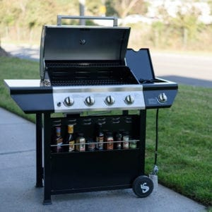 Super Space 60000 BTU 4 Burner Grill