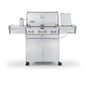 Weber Summit S-470 Stainless-Steel Gas Grill