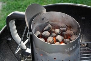 chimney charcoal starter